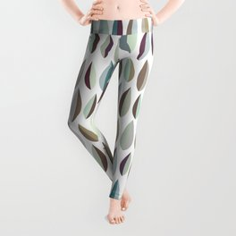 Little Leaves Pattern Collection 2 Leggings
