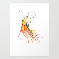 Yulia Art Print