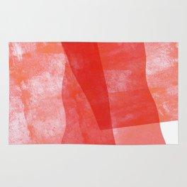 Pink flags Rug
