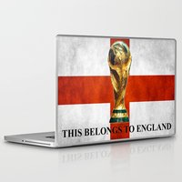world cup Laptop & iPad Skins featuring World Cup by Rothko