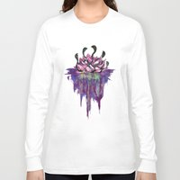 abyss Long Sleeve T-shirts featuring Abyss by Corbin Kosak
