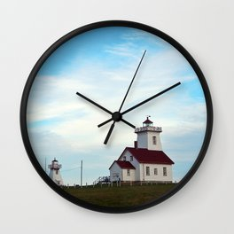 Wood Islands Lighthouse Compound Wall Clock