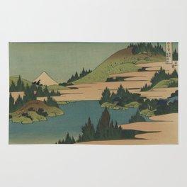 Hokusai  - Fuji Rug