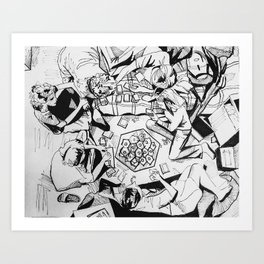 The Game of Our Generation Art Print