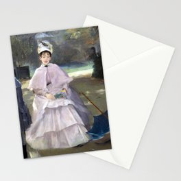 Eva Gonzalès Nanny and Child Stationery Cards