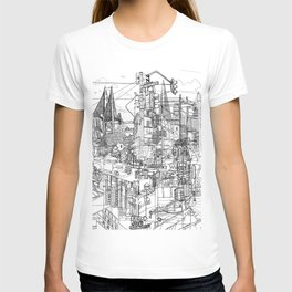 San Francisco! (B&W) T-shirt