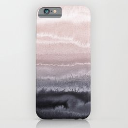 WITHIN THE TIDES BLACK SAND BEACH by Monika Strigel iPhone Case