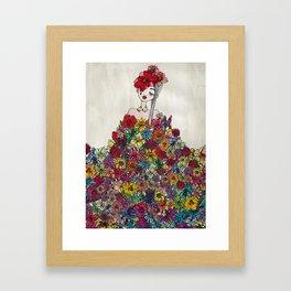 FLOWERFOOL Framed Art Print