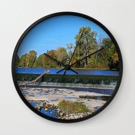 Providence Dam I Wall Clock