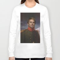 dexter Long Sleeve T-shirts featuring DEXTER by Anthony Morell