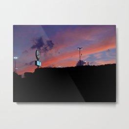 Royal Sunset Metal Print