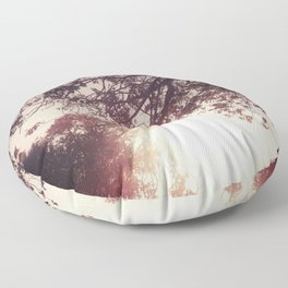 Lost in the Trees:  Blush Floor Pillow