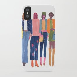 Babes iPhone Case