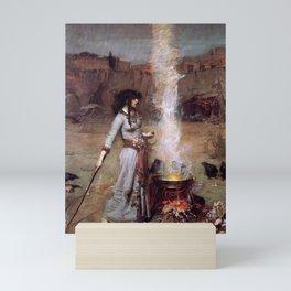 The Magic Circle by John William Waterhouse Mini Art Print