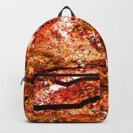 AutumN Tree Leaves Backpack
