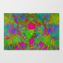 The Twirling Light of My Mind Canvas Print