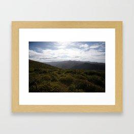 Baja: The Mountains of La Bocana Framed Art Print