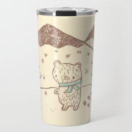 Polar Bear Takes a Walk Travel Mug