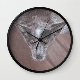 Bang Blue Heeler Wall Clock