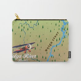 Volga River Russia Carry-All Pouch