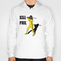 phil jones Hoodies featuring Kill Phil by Faniseto