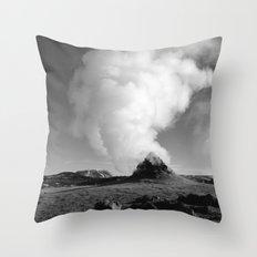 Mývatn Throw Pillow