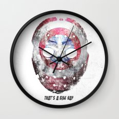 Yankee Mask Wall Clock