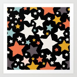 All About the Stars - Style H Art Print