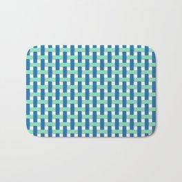 Basketweave Bath Mat