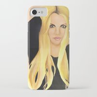 britney iPhone & iPod Cases featuring BRITNEY SPEARS  .- BRITNEY JEAN  by Alfonso Aranda
