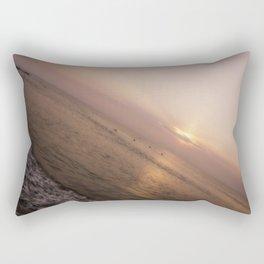 Vertical World Rectangular Pillow