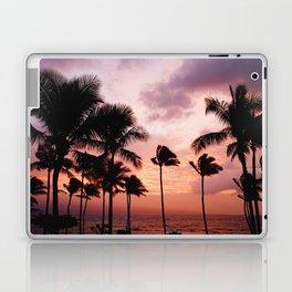 Palm Tree Sunset Laptop & iPad Skin