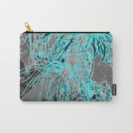 Electric Orbs - Teal Carry-All Pouch