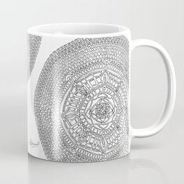 Envisioning on White Background Coffee Mug