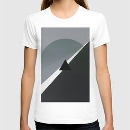 London - triangle/circle graphic T-shirt