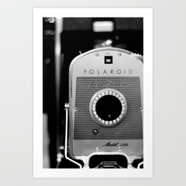Polaroid 150 Art Print
