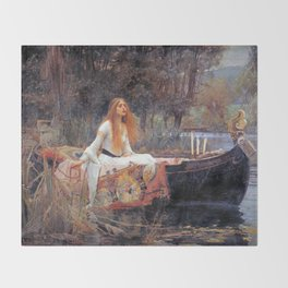 Lady Guinevere Throw Blanket