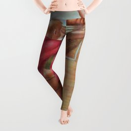 'The Days of Wine and Roses' Landscape Painting Leggings