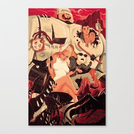 Verhoeven Canvas Print