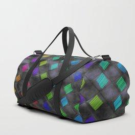 Square Color Duffle Bag