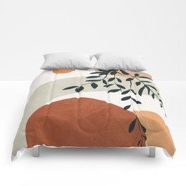 Soft Shapes I Comforters