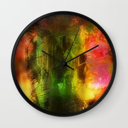 """""""Religion Is Childsplay"""" by surrealpete Wall Clock"""