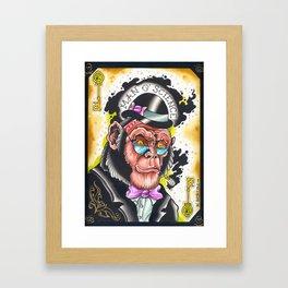 man o' science Framed Art Print