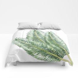 Three Palm Leaves Comforters
