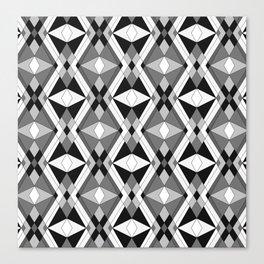Black and white Art 1 Canvas Print