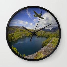 Spitfire Quarry Wall Clock