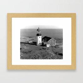 Seguin Lighthouse Framed Art Print