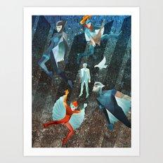 SILVERHAWKS Art Print