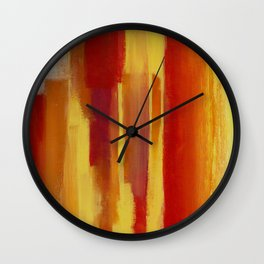Sunstreaks Wall Clock