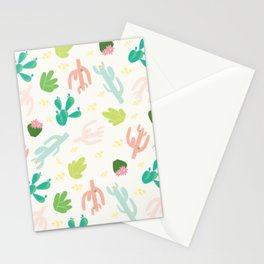 Cactus Ranch Beige Stationery Cards